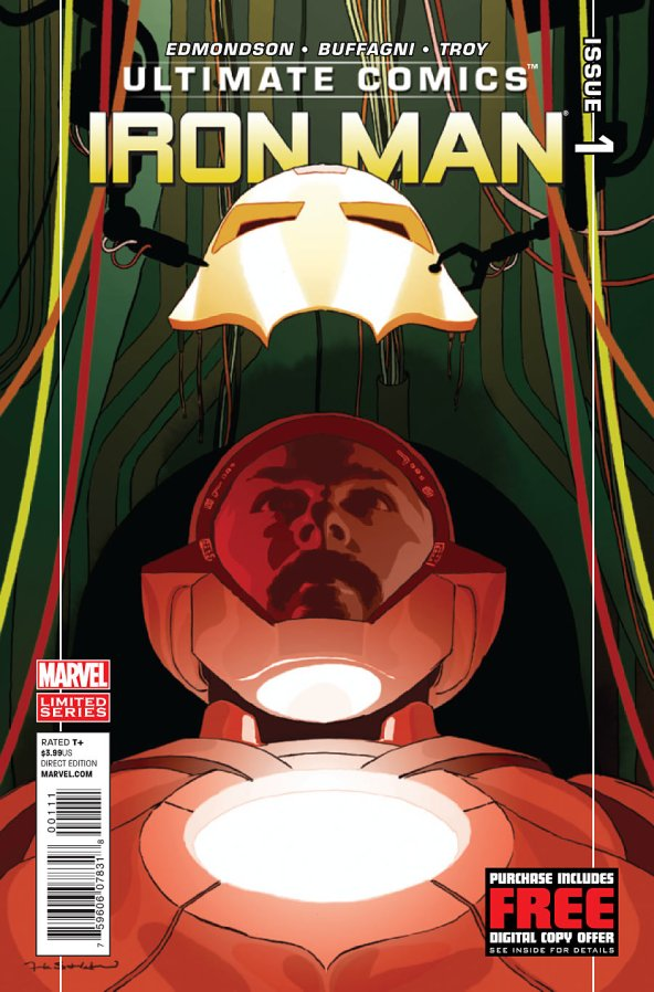 ULTIMATE COMICS IRON MAN #1