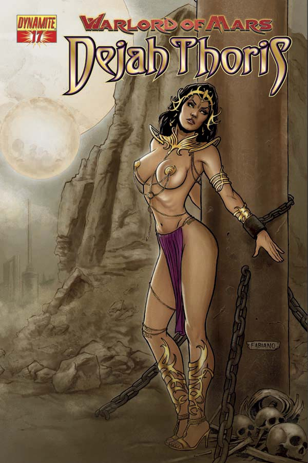 WARLORD OF MARS DEJAH THORIS #17 NEVES COVER
