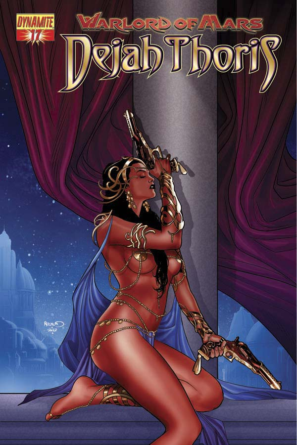 WARLORD OF MARS DEJAH THORIS #17 RENAUD COVER