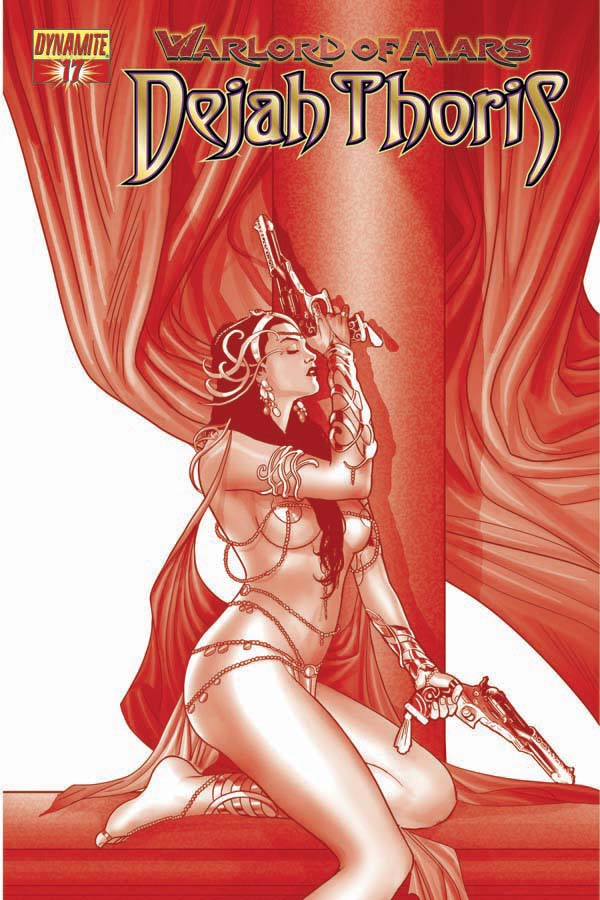 WARLORD OF MARS DEJAH THORIS #17 RENAUD RED COVER