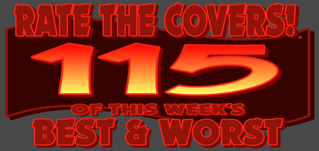 RATE THE COVERS™ 115 COMBINED LOGO