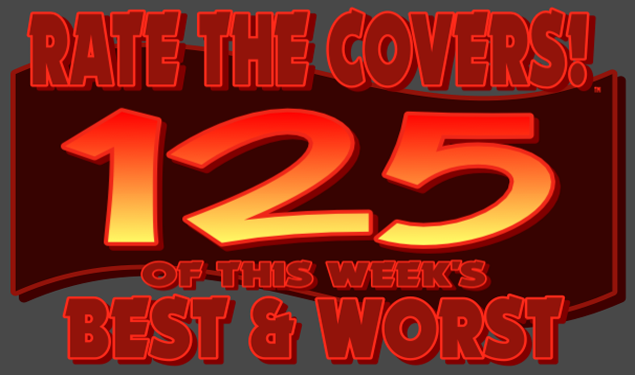 RATE THE COVERS™ 125 COMBINED LOGO NEW