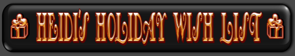 GGU HEIDI'S HOLIDAY WISH LIST BANNER
