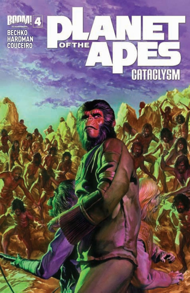 Planet of the Apes Cataclysm #4 Cover A