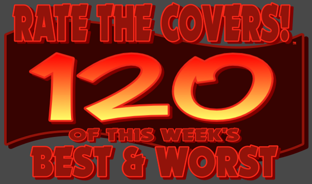 RATE THE COVERS™ 120 COMBINED LOGO