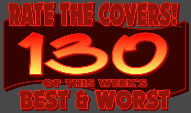 RATE THE COVERS™ 130 COMBINED LOGO