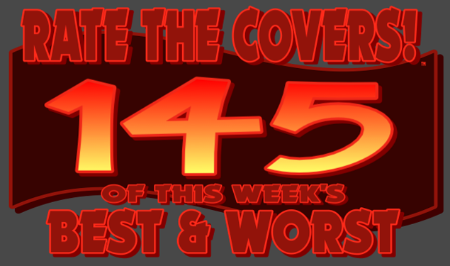 RATE THE COVERS™ 145 COMBINED LOGO