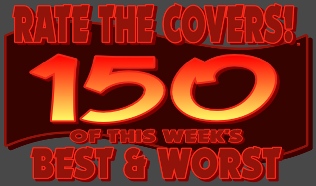 RATE THE COVERS™ 150 COMBINED LOGO