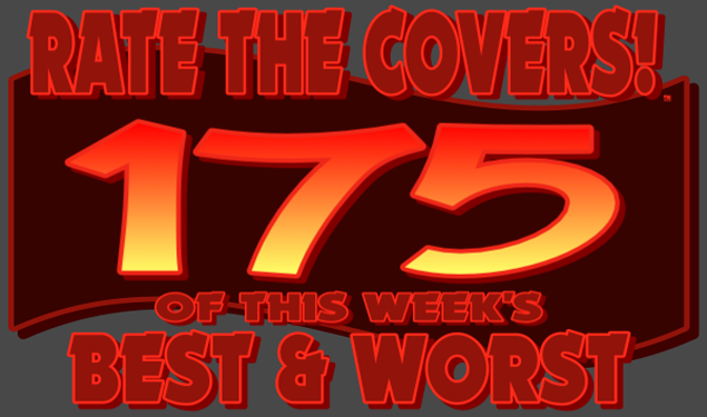 RATE THE COVERS™ 175 COMBINED LOGO