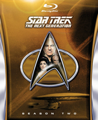 Star Trek- The Next Generation Season 2 Bluray