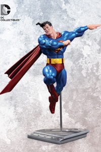 The All New Metallic Superman By Frank Miller Statue