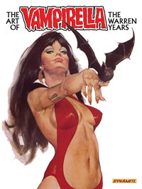 The Art of Vampirella Archives- The Warren Years