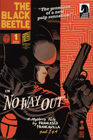 The Black Beetle #1