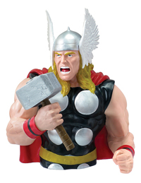 Thor San Diego Comic-Con 2012 Resin Bust Bank
