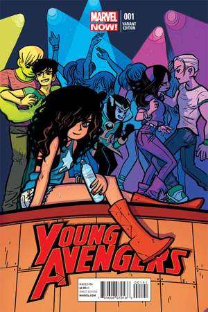 Young Avengers #1 Variant