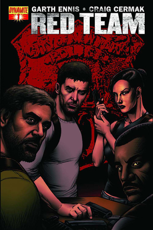 Garth Ennis' Red Team #1