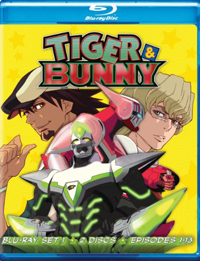 Tiger and Bunny Set One Blu Ray