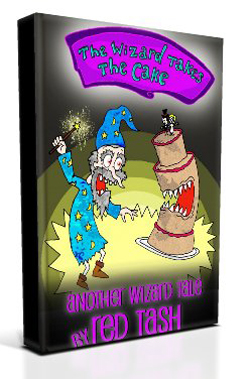 Wizard Takes the Cake 3D