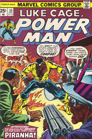 Luke Cage Power Man #30