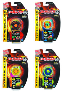 Beyblade Hyperblades Battle Tops
