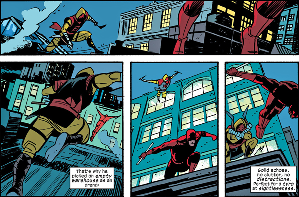 Daredevil #25 Sequence