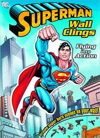 DC Comics Superman Wall Clings – Flying into Action