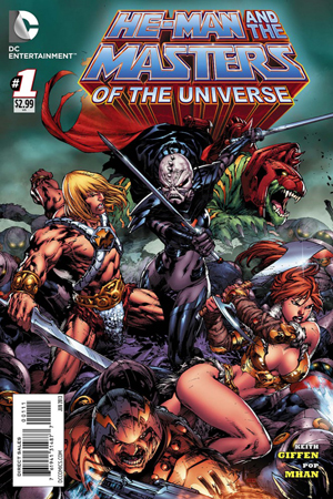 He Man and the Masters of the Universe #1