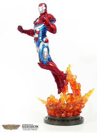 Iron Patriot Statue