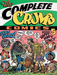 The Complete Crumb 5 Happy Hippy Comix