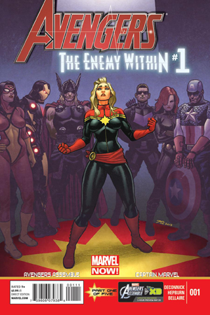Avengers The Enemy Within #1