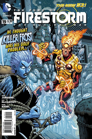 Firestorm The Nuclear Man #19