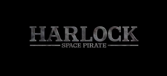 Harlock English Logo