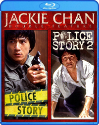 Jackie Chan Double Feature - Police Story: Police Story 2 Blu ray