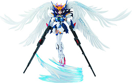 Armor Girls Project Gundam Wing MS Girl Wing Gundam Zero EW Version Figure