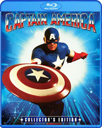 Captain America Collector's Edition Blu ray (1990)