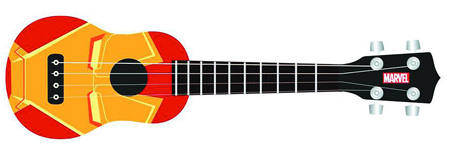 Iron Man 3 Iron Man Face Ukelele
