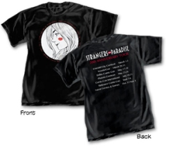 Strangers In Paradise Anniversary Tour T-Shirt