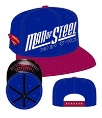 Superman The Man of Steel Sub-Under Snapback Cap