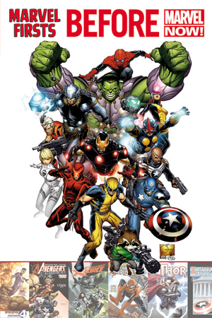 Marvel Firsts Before Marvel Now GN
