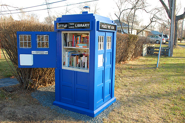 Tardis Little Library