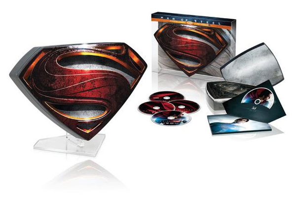 MAN OF STEEL Collector's Edition Blu Ray Set