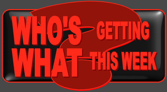 WHO'S GETTING WHAT THIS WEEK? 2013 LOGO