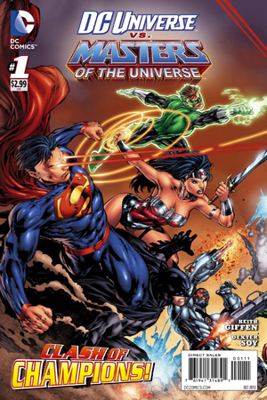 DC Universe vs Masters of the Universe #1