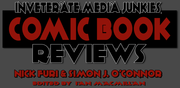 IMJ Comic Book Reviews Banner with Nick & Simon ONLY