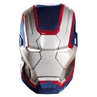 Iron Man 3 Iron Patriot Vacuform Mask