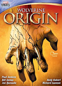Marvel Knights Wolverine Origin DVD