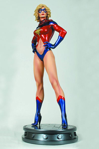 Ms. Marvel 70s Version Statue