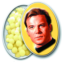 Star Trek Captain Kirk Tinned Candies