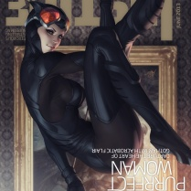 Catwoman by Stanley Lau