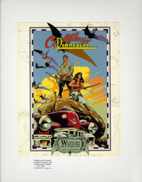 Cadillacs and Dinosaurs Limited Edition Animation Portfolio